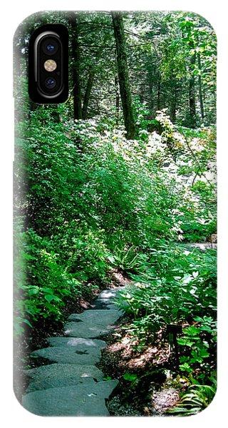 Garden In The Woods IPhone Case