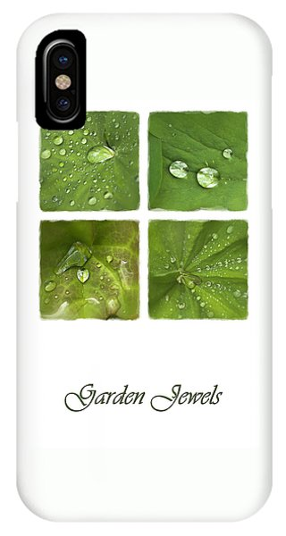 Garden Jewels IPhone Case