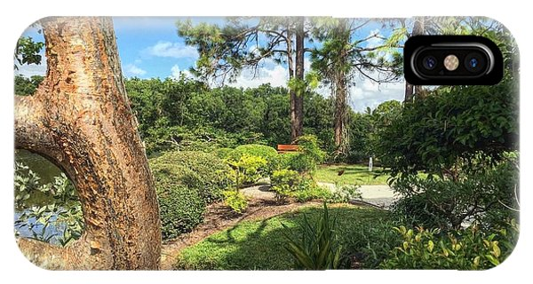 Garden Landscape IPhone Case