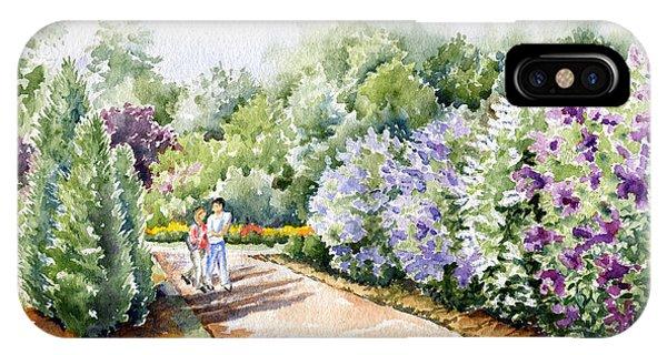 Garden Lilacs IPhone Case