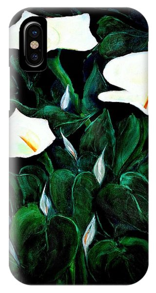 Garden Lilies IPhone Case