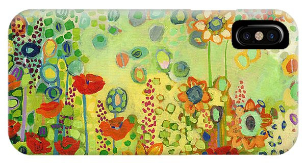 Poppies iPhone Case - Garden Poetry by Jennifer Lommers