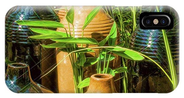Garden Pottery Jugs IPhone Case