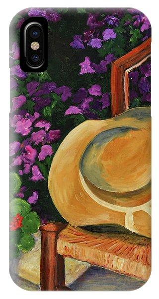 Garden Scene IPhone Case