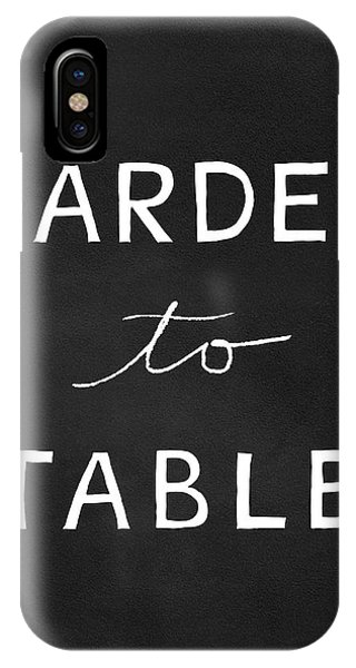 Table iPhone Case - Garden To Table- Art By Linda Woods by Linda Woods