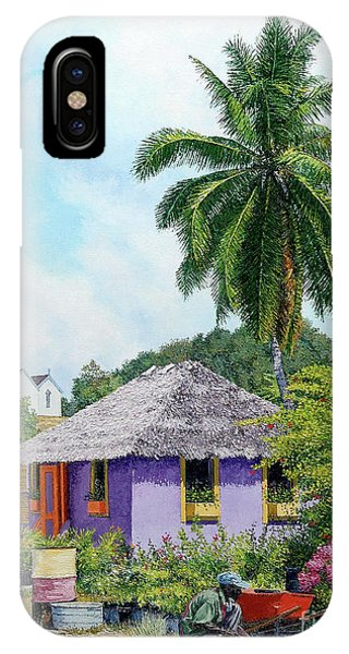 Gardener Hut IPhone Case