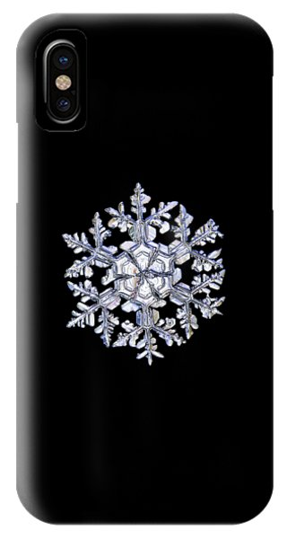 Gardener's Dream, White On Black Version IPhone Case