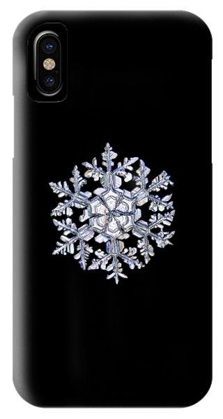 Gardener's Dream, White On Black Version IPhone Case