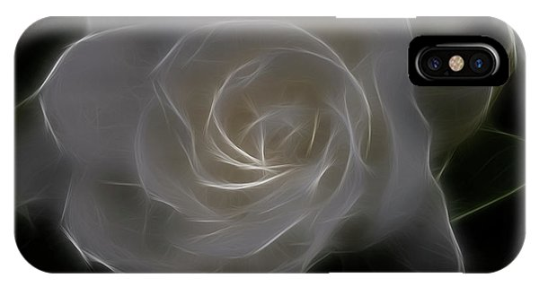 Gardenia Blossom IPhone Case