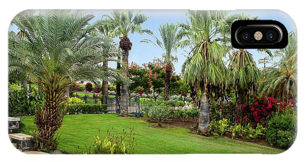 Gardens At Mount Of Beatitudes Israel IPhone Case