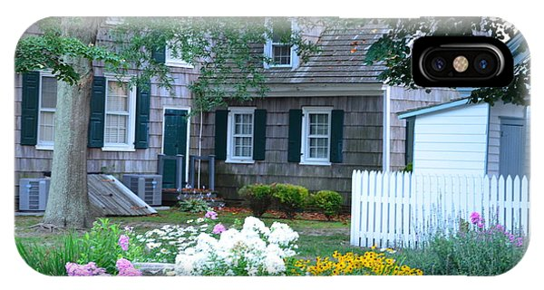 Gardens At The Burton-ingram House - Lewes Delaware IPhone Case