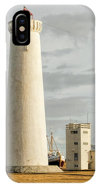 Gardskagi Lighthouse Iceland IPhone Case