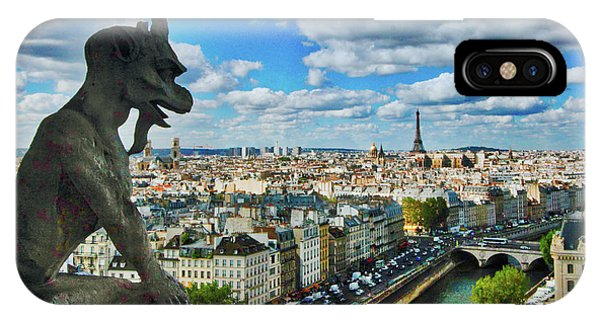 Gargoyle With A View IPhone Case