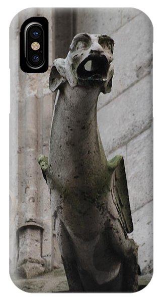 Gargoyle Notre Dame IPhone Case