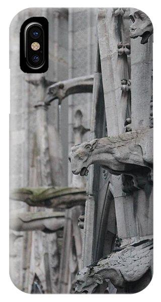 Gargoyles North Notre Dame IPhone Case