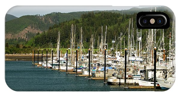 Garibaldi Oregon Marina IPhone Case