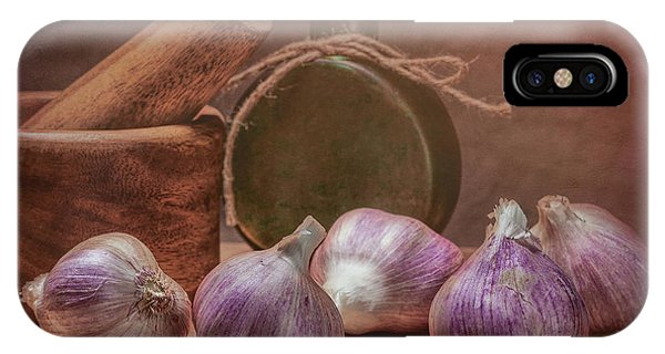 Season iPhone Case - Garlic Bulbs by Tom Mc Nemar