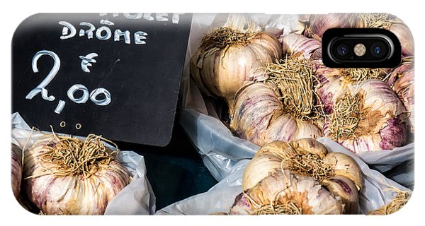Garlic Two Euros IPhone Case
