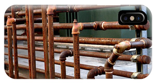 Gas Pipes And Fittings IPhone Case