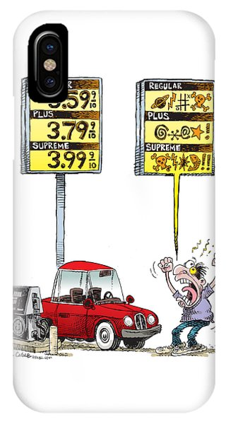 Gas Price Curse IPhone Case