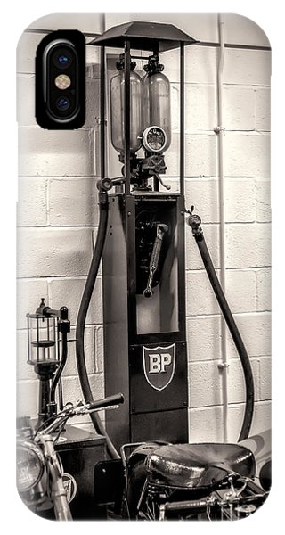Gas Station iPhone Case - Gas Pump Bp by Adrian Evans