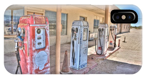 Gas Pumps IPhone Case