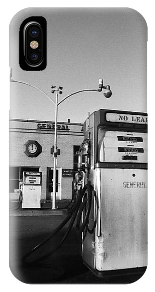 IPhone Case featuring the photograph Gas Station Somerville Ma by Joy McKenzie