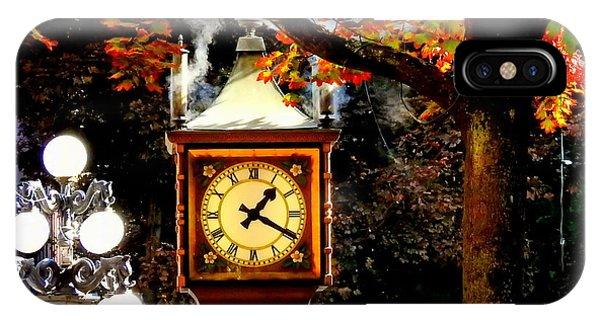 Gastown Steam Clock IPhone Case