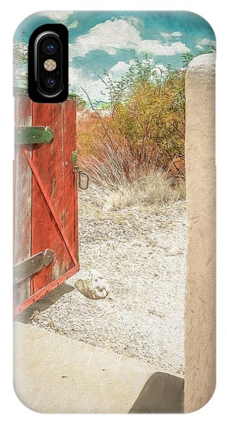 Gate To Oracle IPhone Case