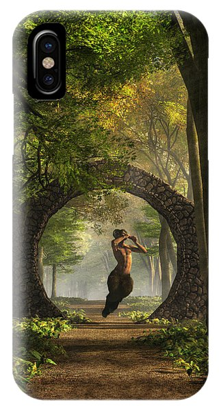 Gate To Pan's Garden IPhone Case