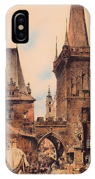 Gateway Arch iPhone Case - Gate To Prague by Mountain Dreams
