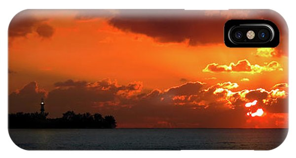Gate To The Americas IPhone Case