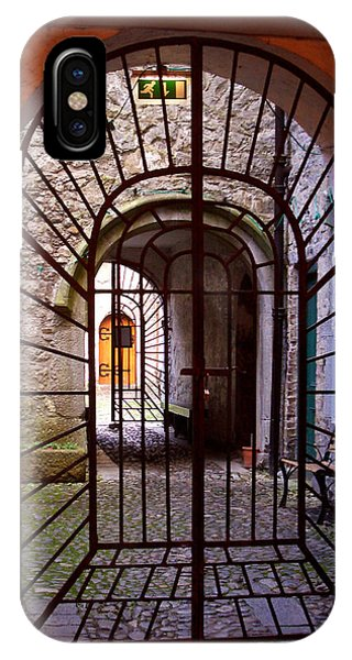 Gated Passage IPhone Case