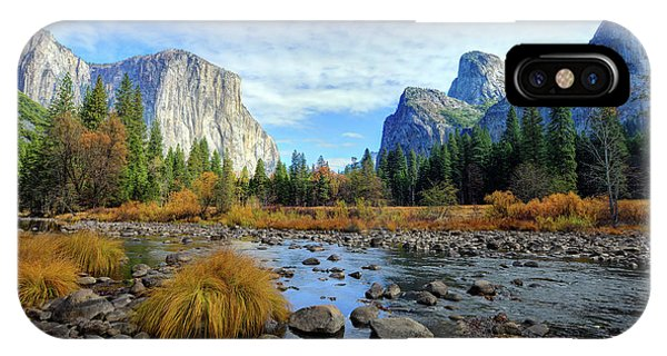 Gates Of The Valley IPhone Case