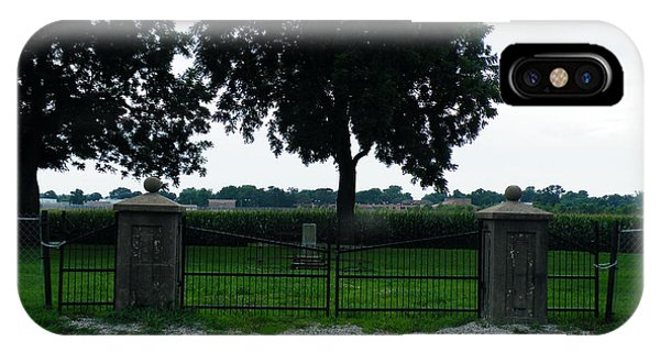 Gates Of Youth Cemetery IPhone Case