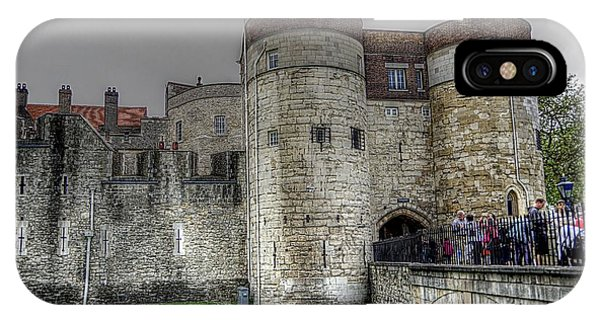 Gates To The Tower Of London IPhone Case