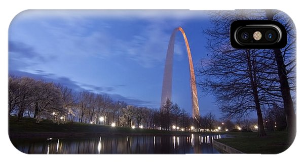 Gateway Arch At Dawn IPhone Case