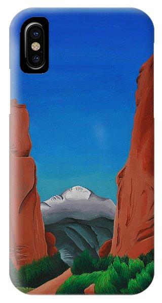 Gateway Horizon IPhone Case