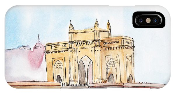 Gateway Of India IPhone Case