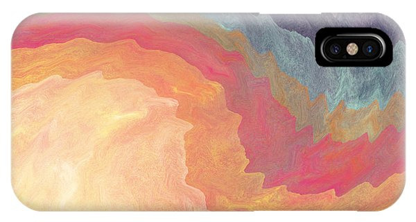 Gather And Give Thanks- Abstract Art By Linda Woods IPhone Case