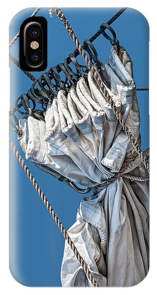 Gathered Sail IPhone Case