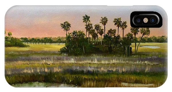iPhone Case - Gathering Of The Palms by Karen Langley