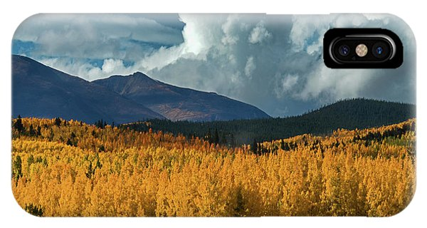 Gathering Storm - Park County Co IPhone Case