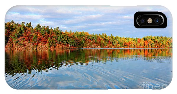 Gatineau Park Autumn Landscape IPhone Case