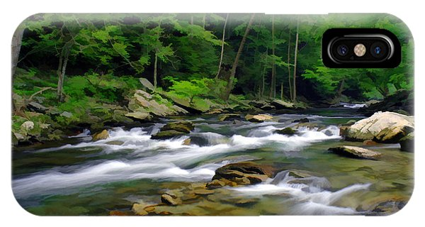 Gatlinburg Stream IPhone Case
