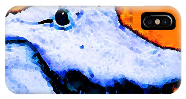 Gator Art - Swampy IPhone Case