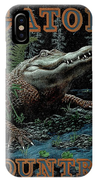 Amphibians iPhone Case - Gator Country by JQ Licensing