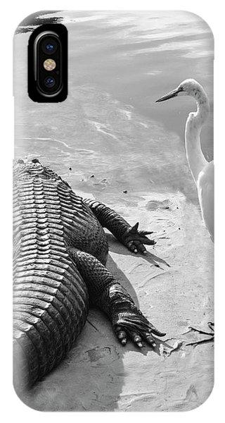Gator Hand IPhone Case