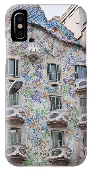 Gaudi Apartment Building IPhone Case
