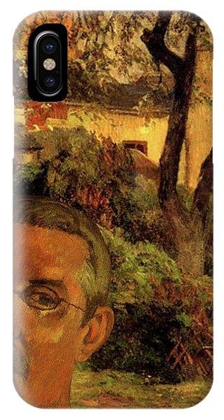 Gauguin Study In Orange IPhone Case
